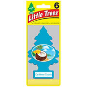 Little Tree Caribbean Colada Air Fresheners, 6 pk.