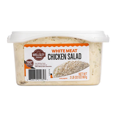 Wellsley Farms White Meat Chicken Salad, 2 lbs.