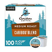 Caribou Coffee Caribou Blend K-Cup Pods, 100 ct.