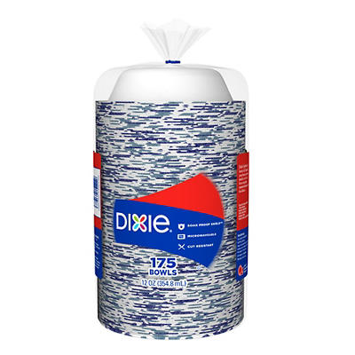 Dixie 12-Oz. Bowls, 175 ct. - Flower Power