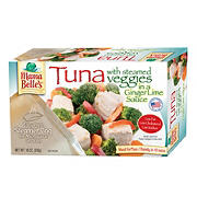 Mama Belle's Tuna with Steamed Veggies