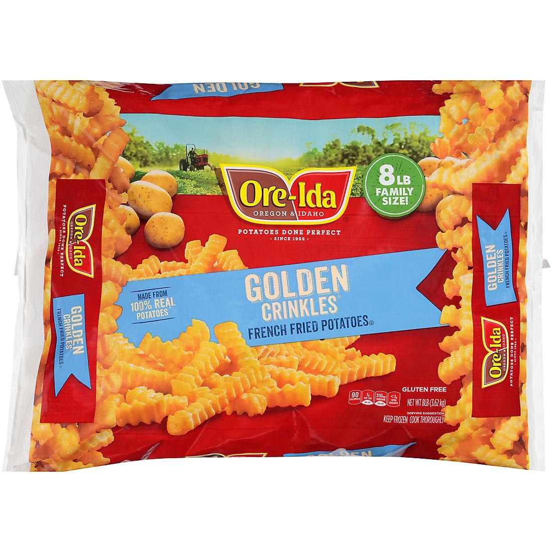 Ore-Ida 8 lbs. Crinkle Fries - BJs