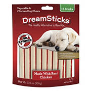 DreamBone Chicken Chews Dog Treats, 15 ct.