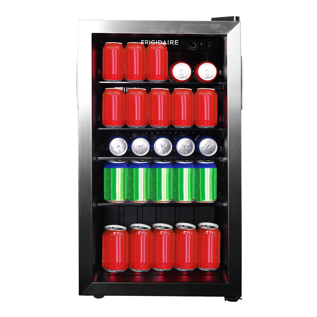 Frigidaire 110-Can/26-Wine Bottle Beverage Center