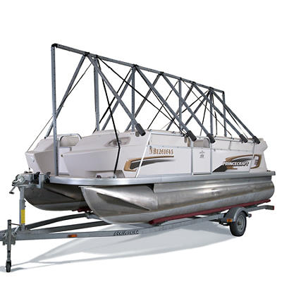 """Navigloo Storage System for 14-18'5"""" Pontoon Boats, Fishing Boats and Runabouts Without Tarp"""