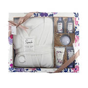 Simple Pleasures Luxury Robe and Spa Set - Lavender