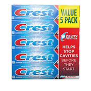 Crest Cavity Protection Toothpaste, 5 pk.