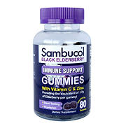 Sambucol Black Elderberry Immune Support Gummies, 80 ct.