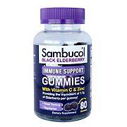 Sambucol Black Elderberry Immune Support Gummies, 80 ct.