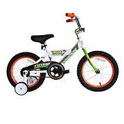 "Titan Champions Boys 16"" BMX Bicycle - White"