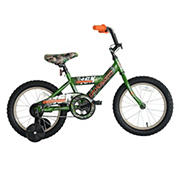 "Titan Champions Boys 16"" BMX Bike with Training Wheels - Camo"