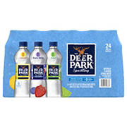 Deer Park Assorted Flavor Sparkling Natural Spring Water, 24 pk./16 oz.