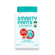 SmartyPants Organic Kids and Toddler Complete Gummy Multivitamin, 180 ct.