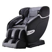 ErgoTec by Cozzia Spirit SL Track Faux Leather Massage Chair - Black