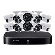 Lorex 16-Channel 10-Camera 4K Security System with 2TB HDD DVR