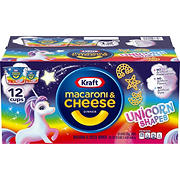 Kraft Unicorn Shapes Easy Mac and Cheese, 12 pk.