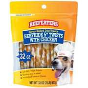 Beefeaters Beefhide Twists with Chicken, 32 oz.