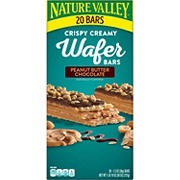 Nature Valley Peanut Butter Crispy Creamy Wafer Bars, 20 ct.