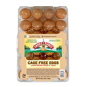 Land O Lakes Large Brown Cage Free Grade A Eggs, 24 ct.
