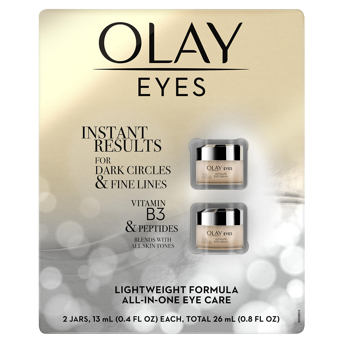 Olay Ultimate All In One Eye Cream 2 Ct Bjs Wholesale Club