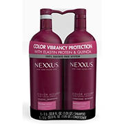 Nexxus Color Assure Shampoo and Conditioner, 2 pk.