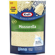 Kraft Shredded Mozzarella Cheese, 2 pk./16 oz.