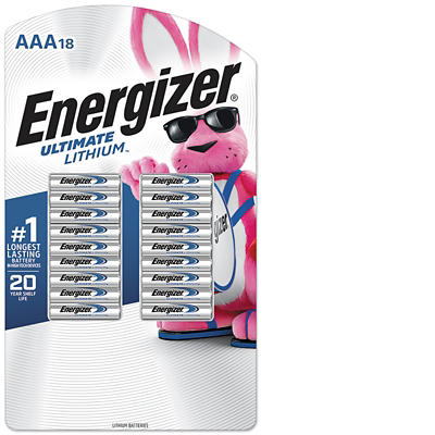 Energizer Ultimate Lithium AAA Batteries, 18 ct.