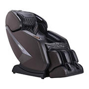 Ergotec 3D Relief by Cozzia SL Track Faux Leather Massage Chair by Ergotec with remote - Brown
