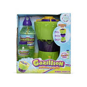 Gazillion Bubble Rush Bubble Machine with 8 oz. Premium Solution and 1L Refill