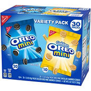 Mini Oreo Variety Pack, 30 ct.