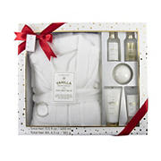 Simple Pleasures Luxury Robe and Spa Set - Vanilla
