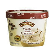 Turkey Hill Vanilla Salted Caramel Premium Ice Cream, 64 fl. oz.
