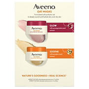 Aveeno Oat Masks with Pumpkin and Pomegranate Seed Extract, 2 pk.