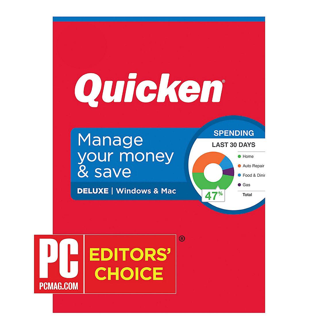 Quicken Home Business 2020.Quicken Deluxe 2020 1 Year