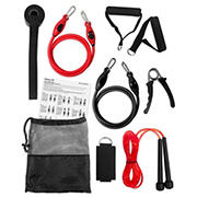 Shock Athletic 10-Pc. Fitness Kit