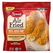 Tyson Air Fried Crispy Chicken Breast Strips, 3 lbs.