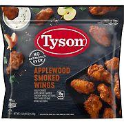Tyson Applewood Smoked Wings, 4 lbs.