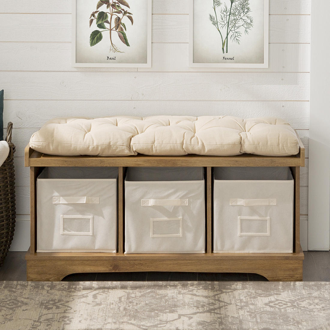 Brilliant 42 Farmhouse Entryway Storage Bench Barnwood Gmtry Best Dining Table And Chair Ideas Images Gmtryco