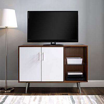 "44"" Mid-Century Modern Buffet Storage Cabinet - Reclaimed Wood"