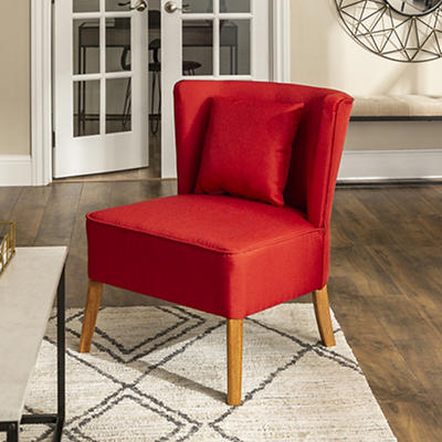 Modern Lounge Side Accent Chair - Brown