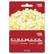$25 Cinemark Gift Card