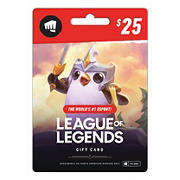$25 League of Legends Gift Card
