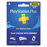 Sony PlayStation Plus 3 Month $24.99