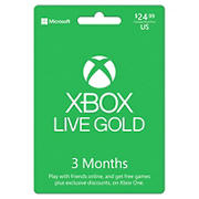 Xbox Live Gold 3-Month Membership