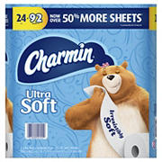 Charmin Ultra Soft 2-Ply Bathroom Tissue, 24 ct.