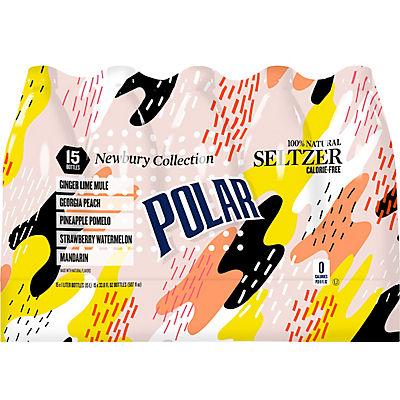 Polar Seltzer Newbury Collection, 15 pk.