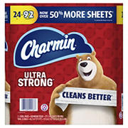 Charmin Ultra Strong 2-Ply Bathroom Tissue, 24 ct.