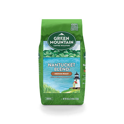 Green Mountain Nantucket Blend Ground Coffee, 40 oz.