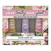 Love Beauty Planet Hand Cream Set, 3 pk.