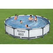 "Bestway Steel Pro MAX 12' x 30"" Above Ground Pool Set"